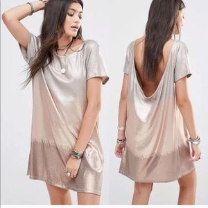 -HOST PICK- Free people sequined ombré dress